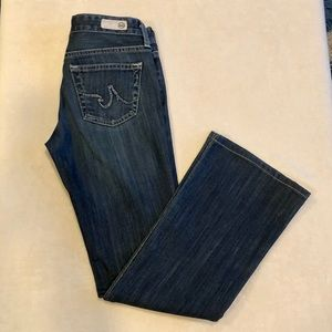 Ag Entourage The Club Flare Jeans Size 26R EUC